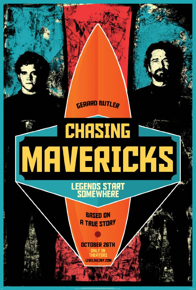 в погоне за Mavericks новый фильм о сёрфинге