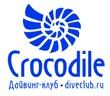 """Аквалангистов дайверов клуб """"Крокодил""""."""